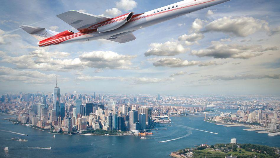 Traum der Ingenieure: Die AS2 soll einmal die neue Concorde werden.