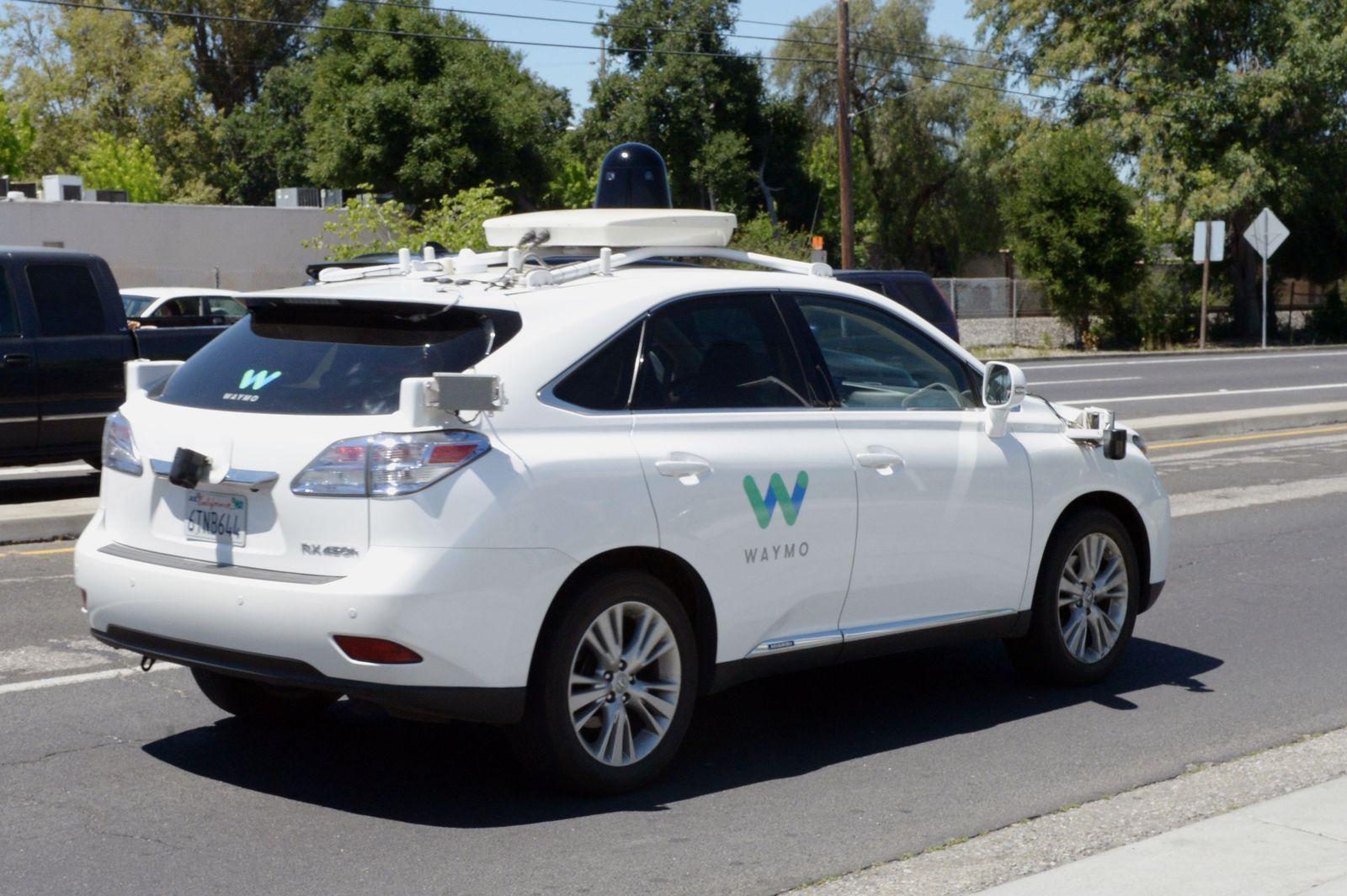 Waymo / selbstfahrendes Auto