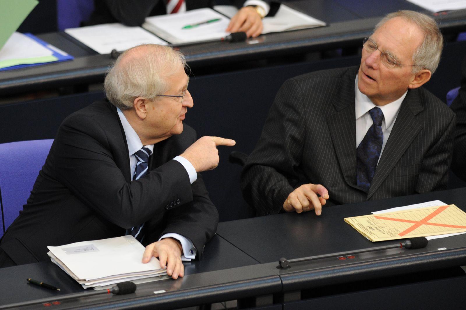 Schäuble vs. Brüderle