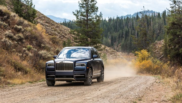 Rolls-Royce Cullinan: Offroad mit Champagnerglas-Halter