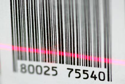 Das Ende vor Augen: Der Strichcode wird bald von RFID-Chips abgelöst