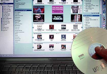 Populär: Apples iTunes