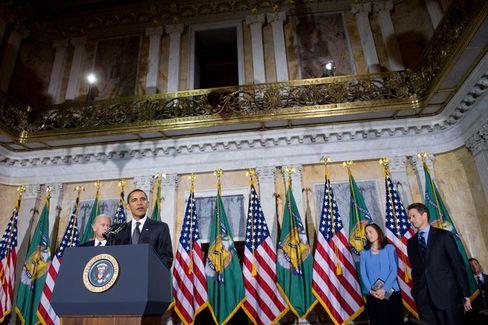Will einschreiten: US-Präsiden Obama möchte manche Bonuszahlungen an Banker stoppen