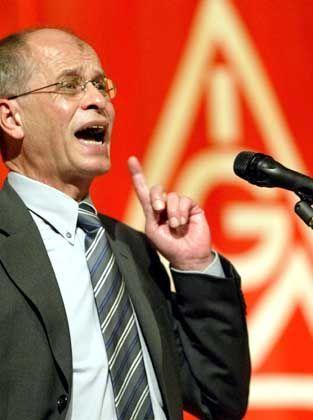 """""""Wir werden das nicht schlucken"""": IG-Metall-Vize Berthold Huber"""