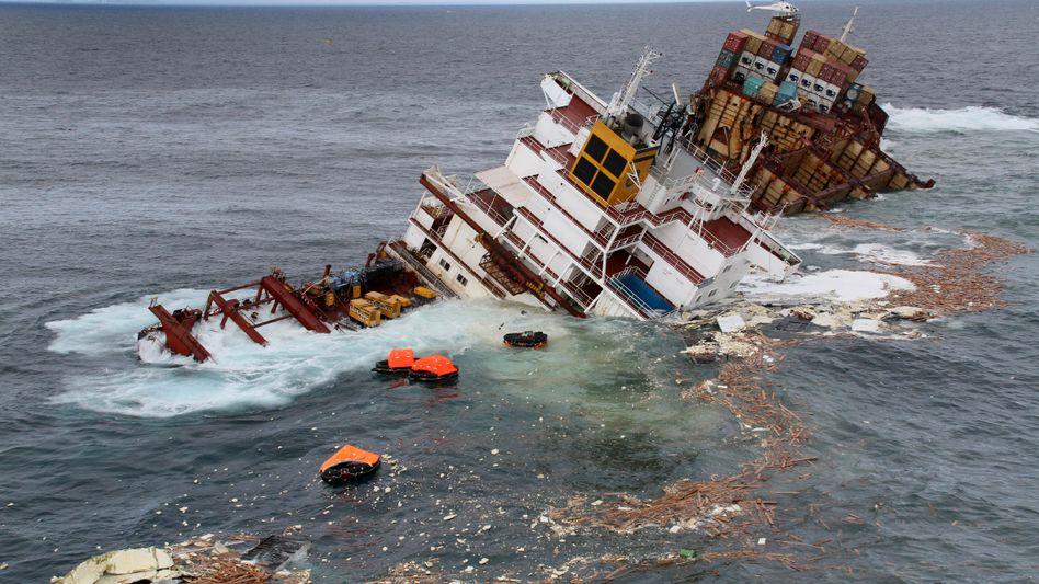 Schiffbruch: Viele Anleger gingen mit Investments in die Schifffahrt baden