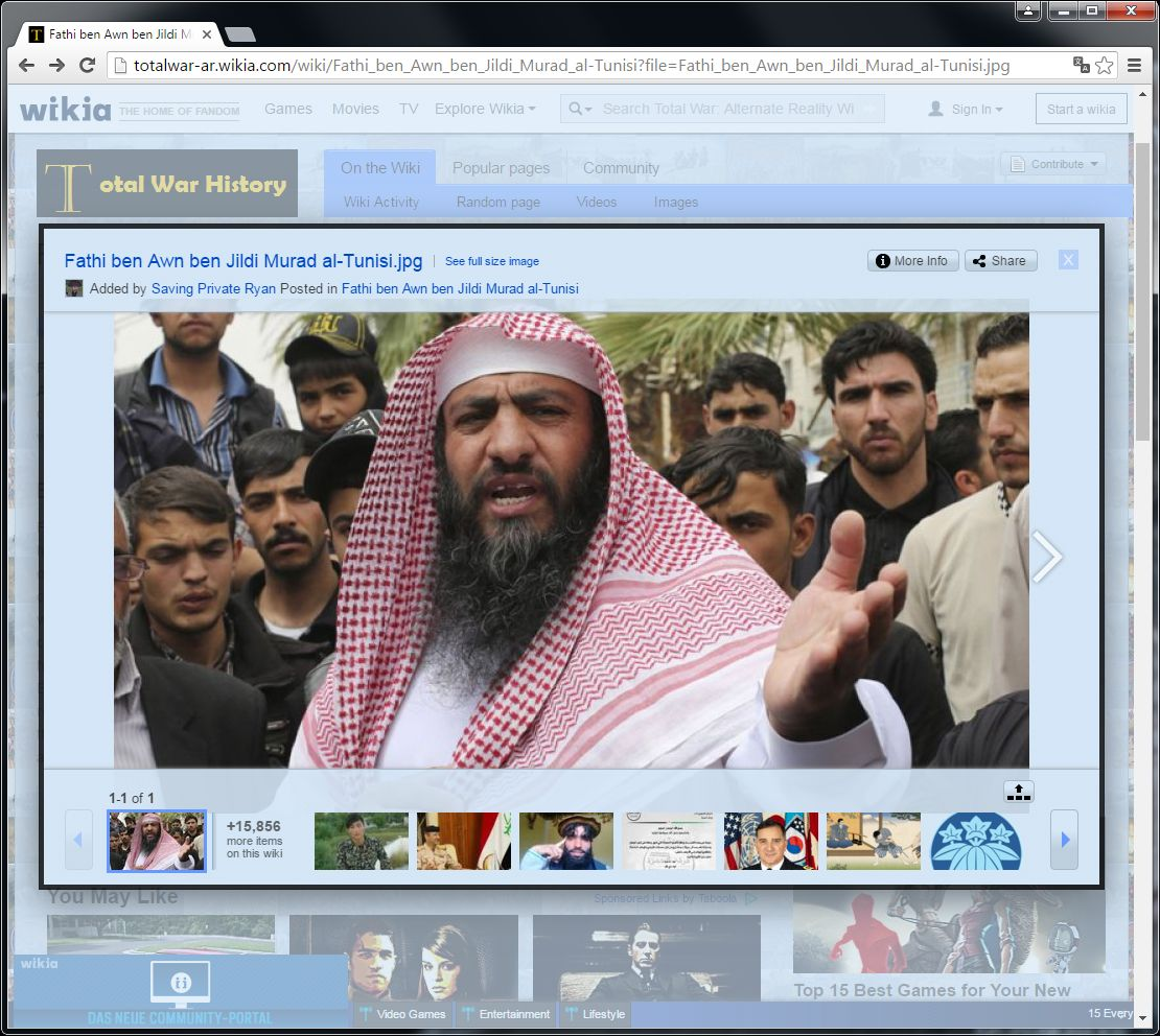 EINMALIGE VERWENDUNG Fathi ben Awn ben Jildi Murad al-Tunisi