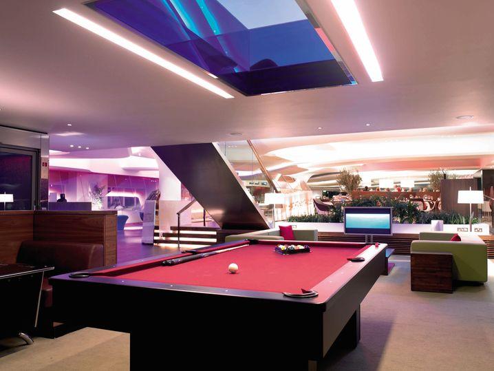 Der gewisse Coolness-Faktor: Das Virgin Atlantic Clubhouse in Heathrow