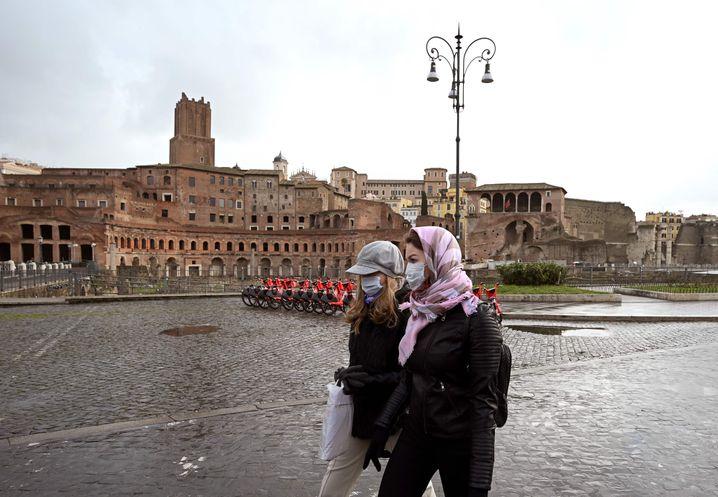 Italien fest im Griff der Corona-Pandemie