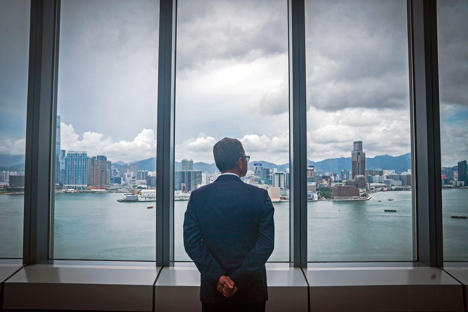 Hong Kong Finance Secretary Paul Chan Interview