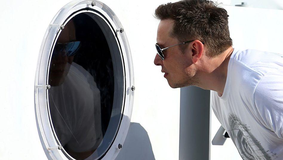 Milliardär Elon Musk nimmt regelmäßig starke Schlafmittel