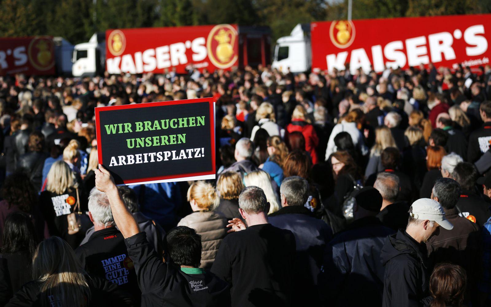 Betriebsversammlung Kaisers Tengelmann GmbH