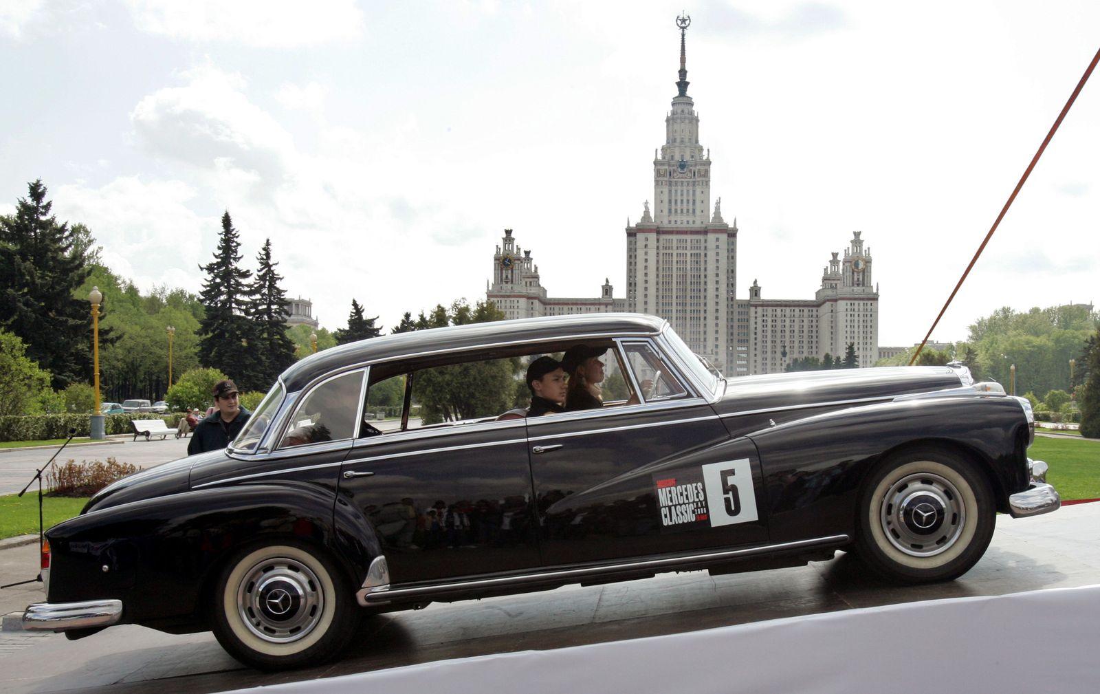 Mercedes Russland Moskau