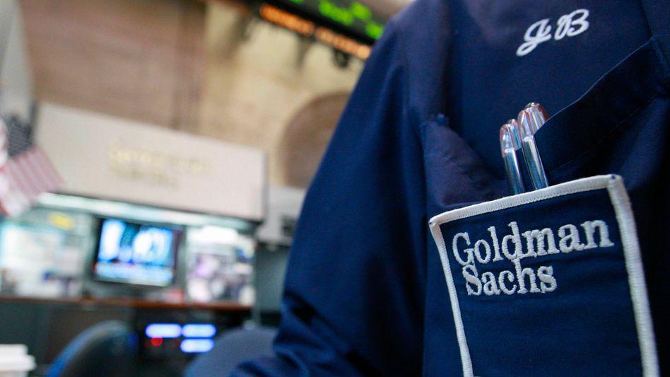 Händler von Goldman Sachs