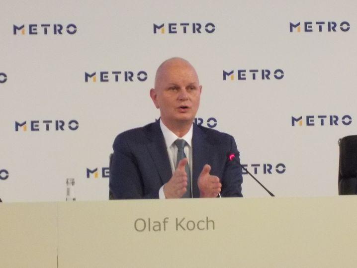 Bilanz-Pressekonferenz der Metro mit CEO Olaf Koch.