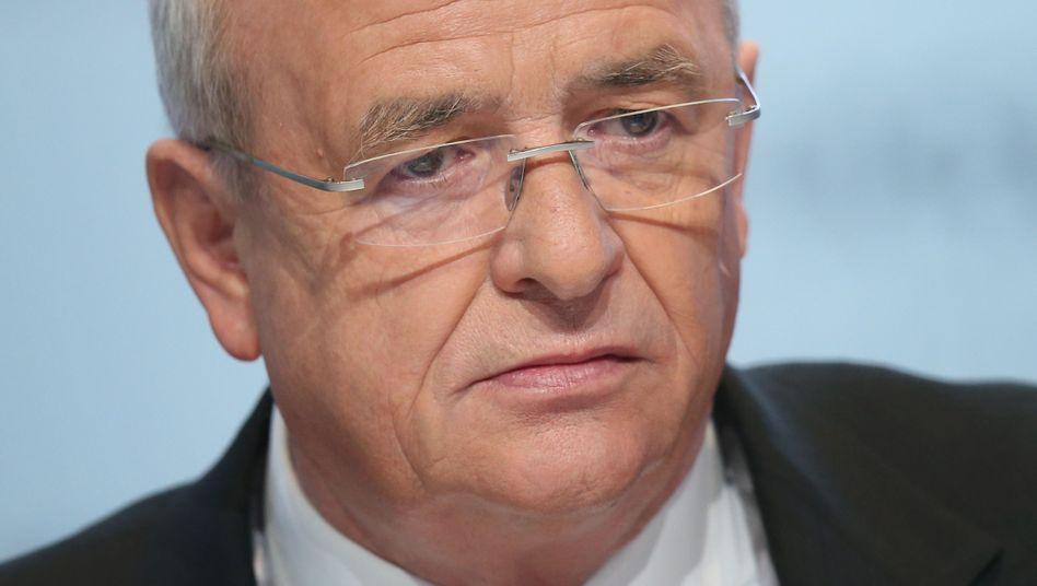 Ex-Vorstandsvorsitzender Martin Winterkorn: Geht er ganz?