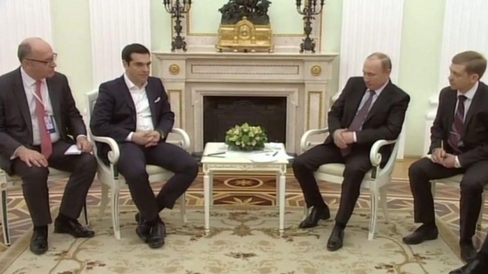 Tsipras trifft Putin
