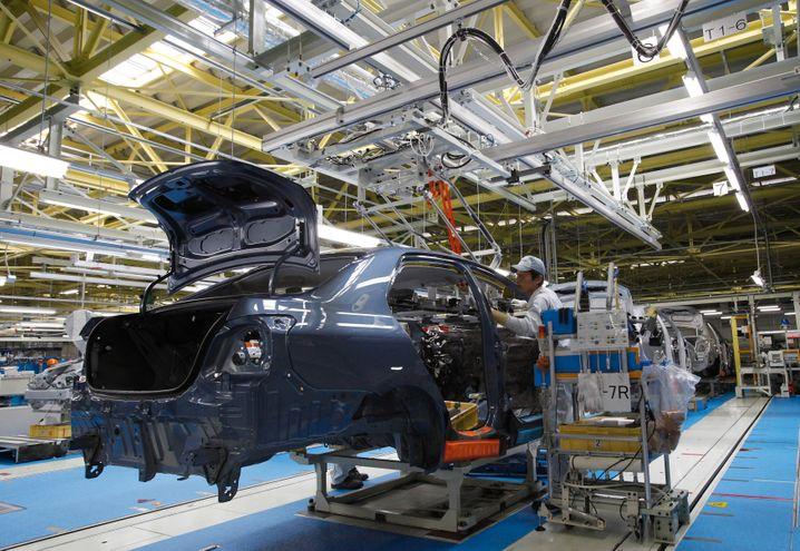 Toyota-Produktion in Japan: Offensiv abgespeckt
