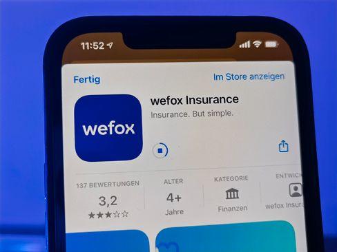 Versicherungen via Smartphone: Wefox will seine Geschäftsprozesse zu 90 Prozent automatisieren und damit gegenüber den Wettbewerbern einen erheblichen Kostenvorteil realisieren