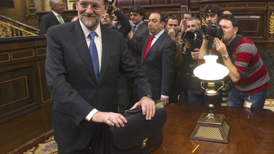 Mariano Rajoy: Nach der Wahl zum neuen spanischen Ministerpräsidenten
