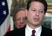 Hofft weiter auf den Sieg: Al Gore