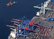 Eurogate-Terminal in Hamburg: Künftig betreibt das Unternehmen auch den neuen Seehafen am Jadebusen