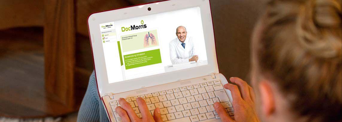 EINMALIGE VERWENDUNG Doc Morris - mmo XXL