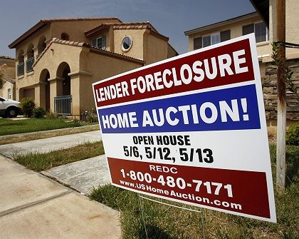 Unter den Hammer: Immer mehr US-Bürger können ihre Hypothek nicht mehr bezahlen