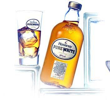 Hennessy Pure White - weit entfernt davon, bloß Branntwein zu sein