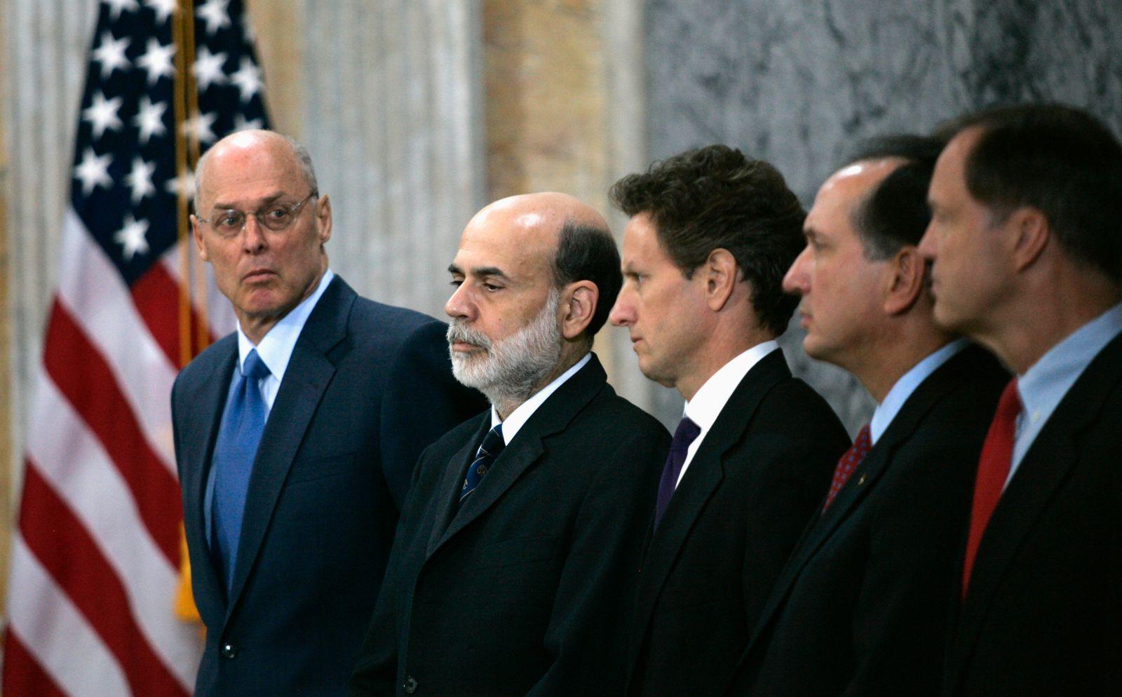 Henry Paulson / Ben Bernanke / Timothy F. Geithner