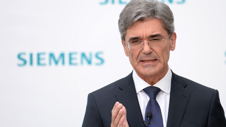 """Siemens-Chef Joe Kaeser: """"Ab einem bestimmten Zeitpunkt sollte jedes der 3 Siemens-Unternehmen in der Lage sein, aktiv am 'Merger Endgame' in seiner Industrie teilzunehmen"""""""