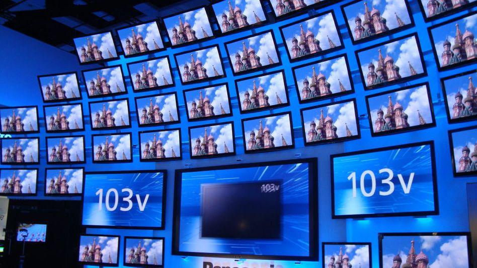 Elektronikkonzern Panasonic: Das japanische Unternehmen produziert unter anderem Fernseher