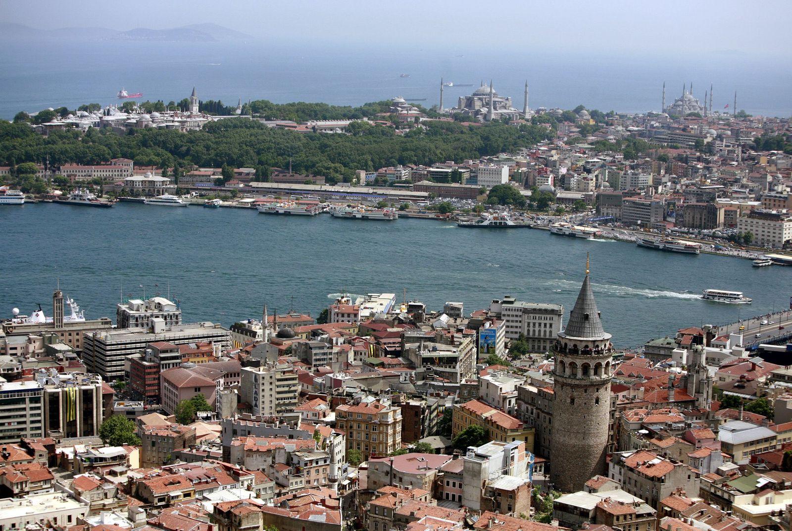 Städtetrip/ Istanbul/ Panorama