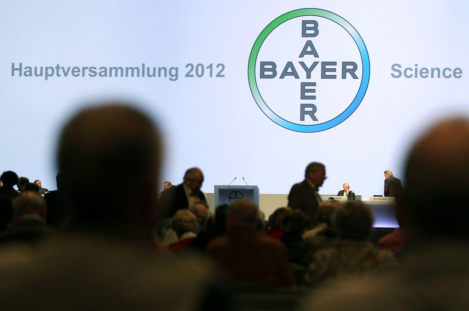 Bayer Hauptversammlung