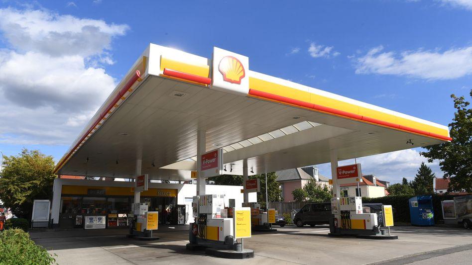 Shell-Tankstelle in Ingolstadt (Bayern)