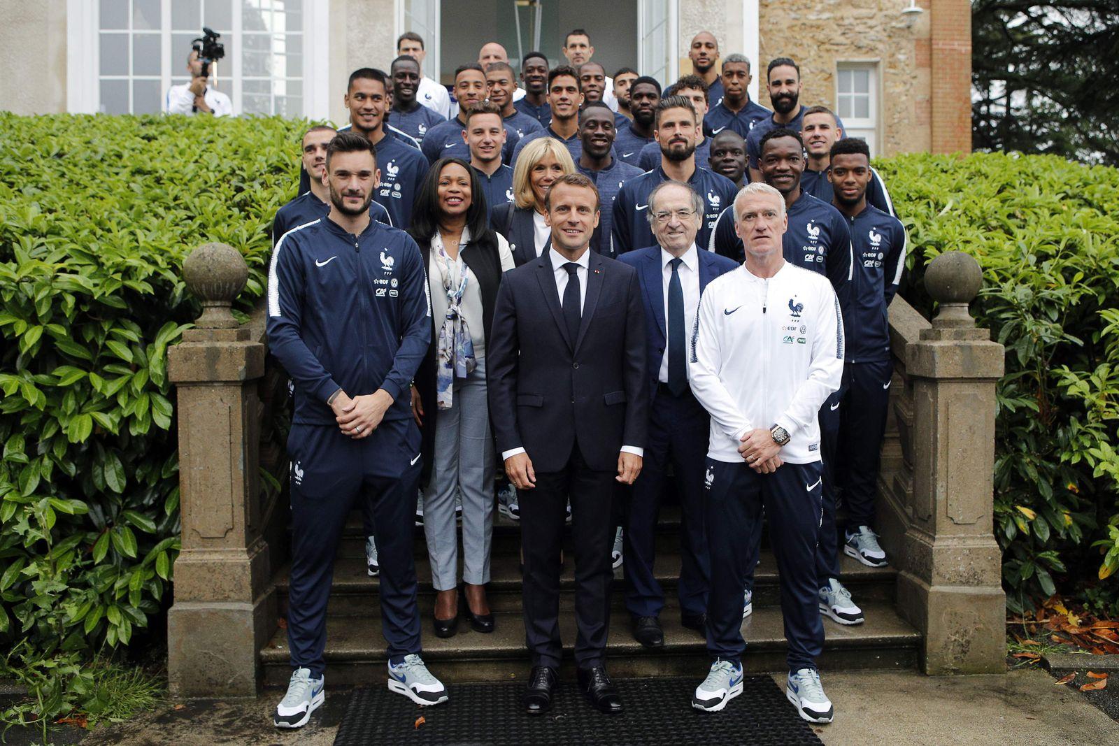 Frankreich / WM / Macron / Nike
