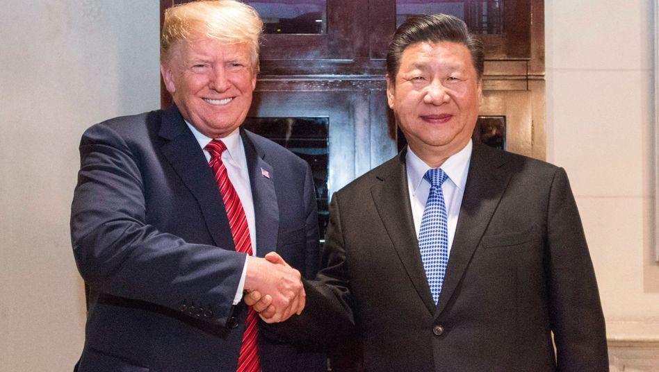 Trump, Xi beim G20-Gipfel in Buenos Aires: Waffenstillstand - und eine Frist von 90 Tagen