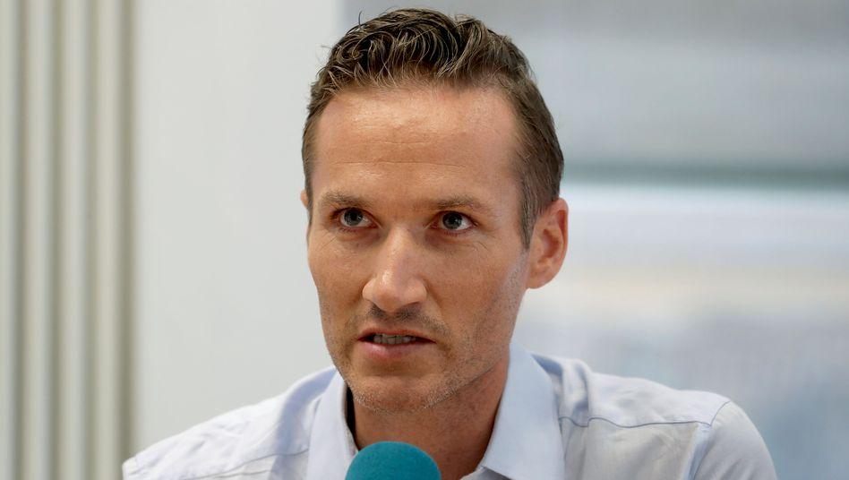 Auf Konfrontationskurs: Delivery-Hero-Chef Niklas Östberg