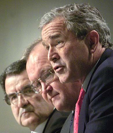 US-Präsident Bush verlangt Europa viel ab