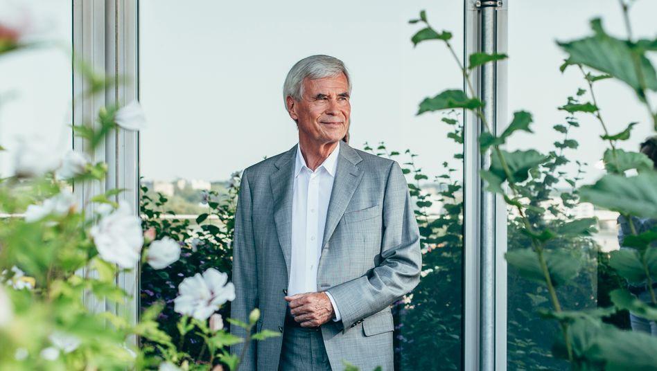 MANN MIT WEITSICHT: Michael Otto war seiner Zeit voraus, als er Mitte der 80er Jahre Nachhaltigkeit als Unternehmensziel des Versandhändlers definierte