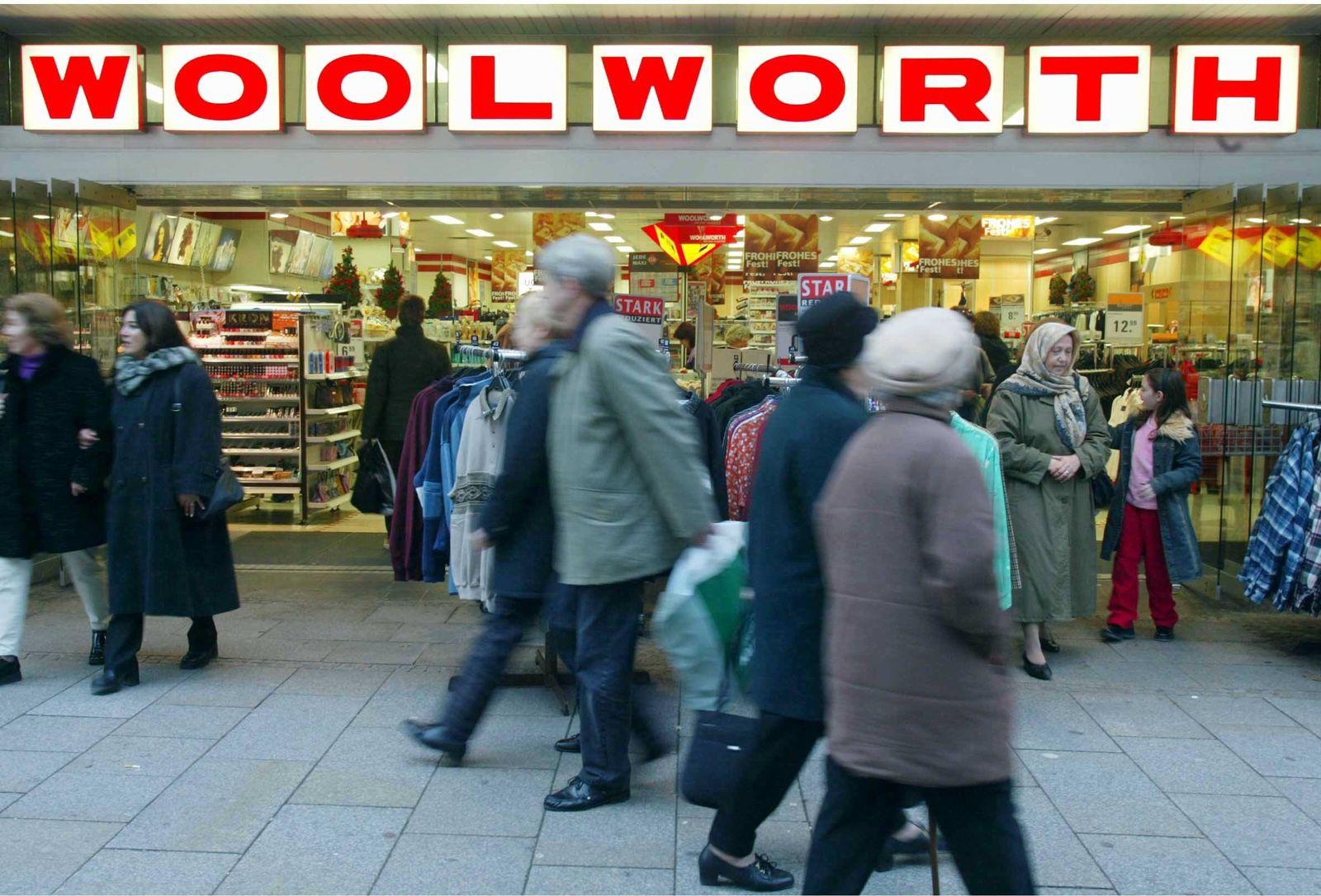 NICHT VERWENDEN Kaufhauskette Woolworth offenbar kurz vor dem Verkauf
