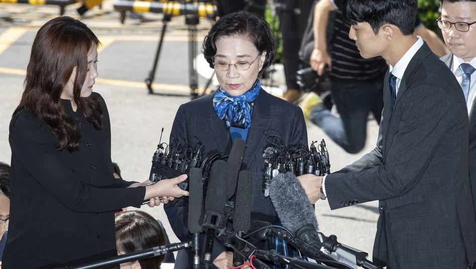Lee Myung Hee: Ehefrau des Korean-Air-Chefs soll Angestellte geschlagen haben