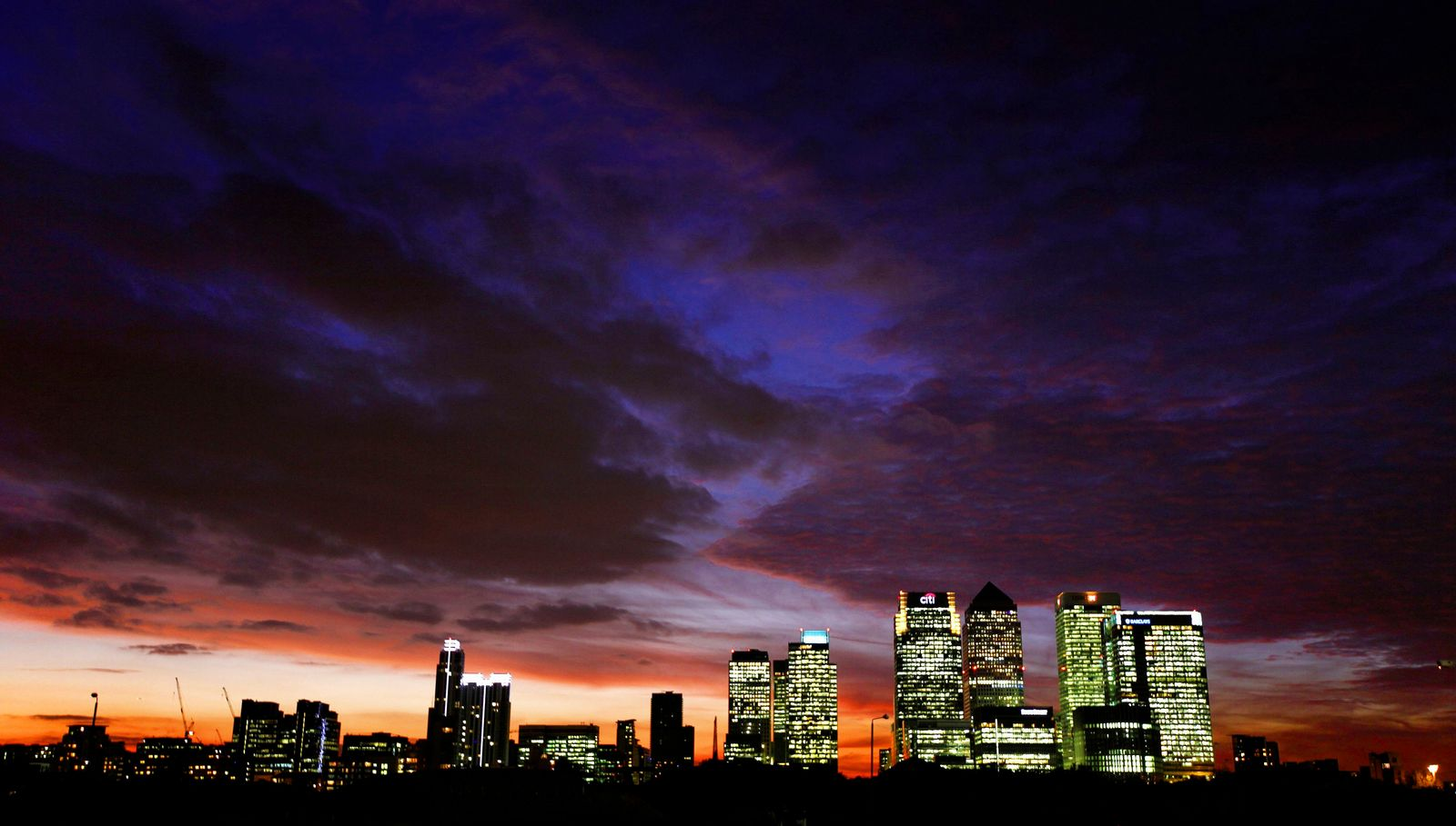 London / Skyline / Canary Wharf