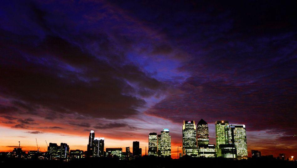 Londons Finanzcenter Canary Wharf: Banken drohen neue Strafen nach Manipulation des Libor-Zinssatzes