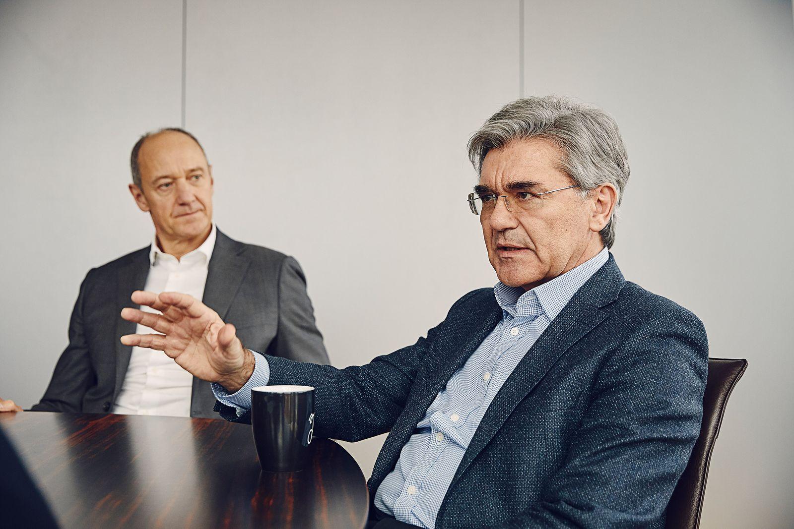 Interview mit Joe Kaeser und Roland Busch