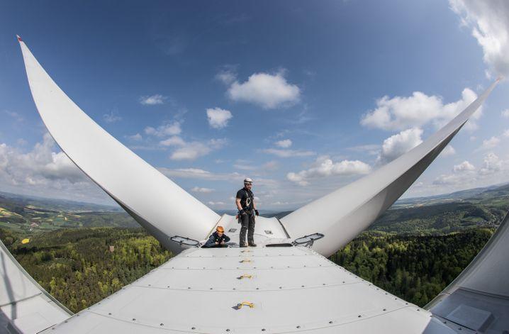Windrad von Vestas: Die Dänen führen die Industrie seit den 80er Jahren an.