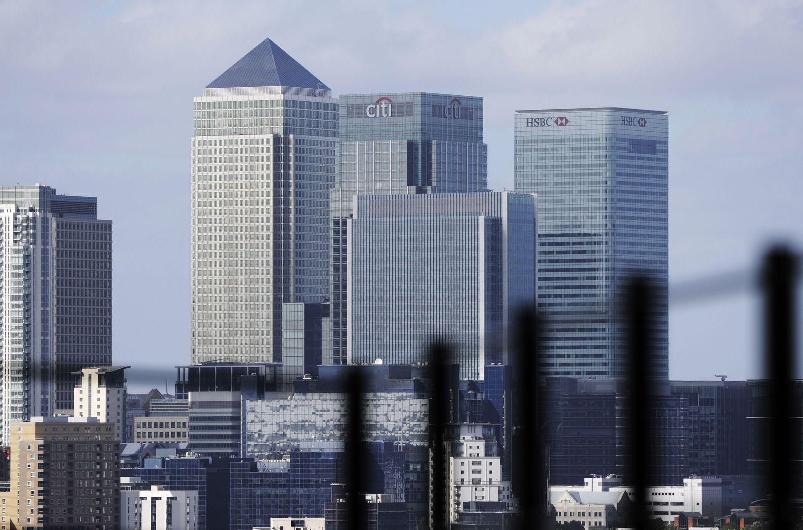 London Bankenviertel