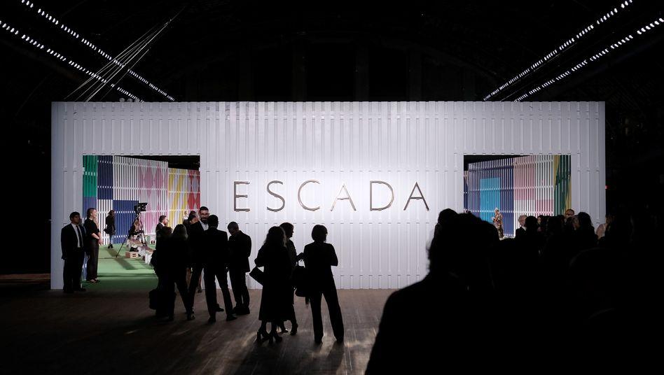 Dunkle Zeiten: Escada auf der New York Fashion Show 2018.