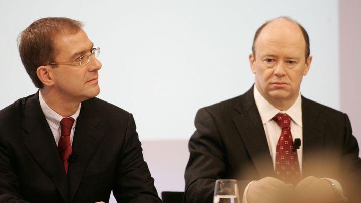 Topmanager, Investmentbanker, Networker: Bilder von John Cryan