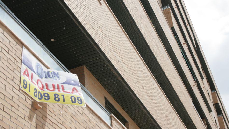 Siedlung in Madrid: Immobilienkrise erreicht weitere Banken im Land