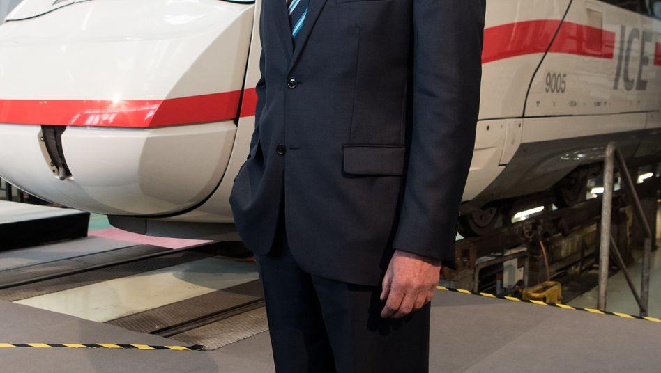 Bahnchef Richard Lutz: Zu große Machtfülle